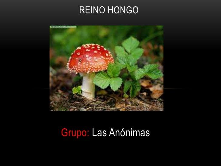 REINO HONGOGrupo: Las Anónimas