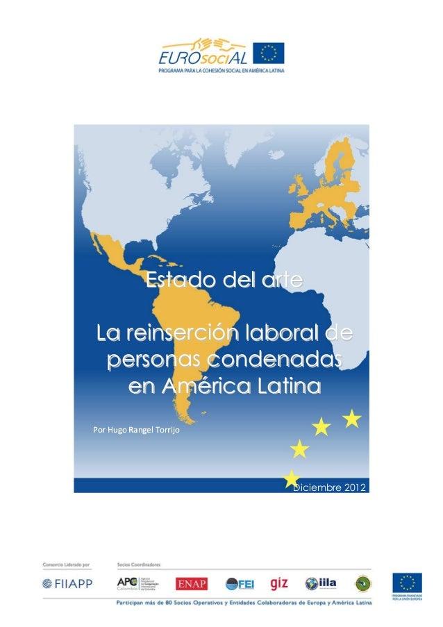 La reinsercion laboral de personas condenadas en América Latina