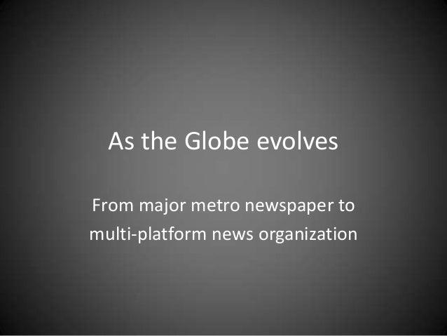 Reinventing the Boston Globe