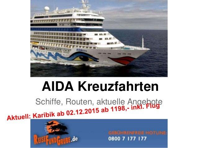 AIDA Kreuzfahrten Schiffe, Routen, aktuelle Angebote