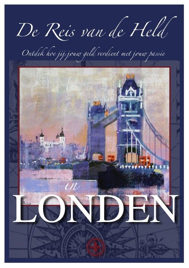 De Reis van de Held in Londen Flyer