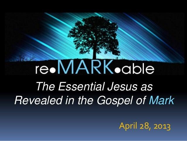 Rejected ... released    mark 6 - 1-133 - april 8, 2013