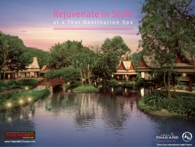 Rejuvenate in style at a thai destination spa
