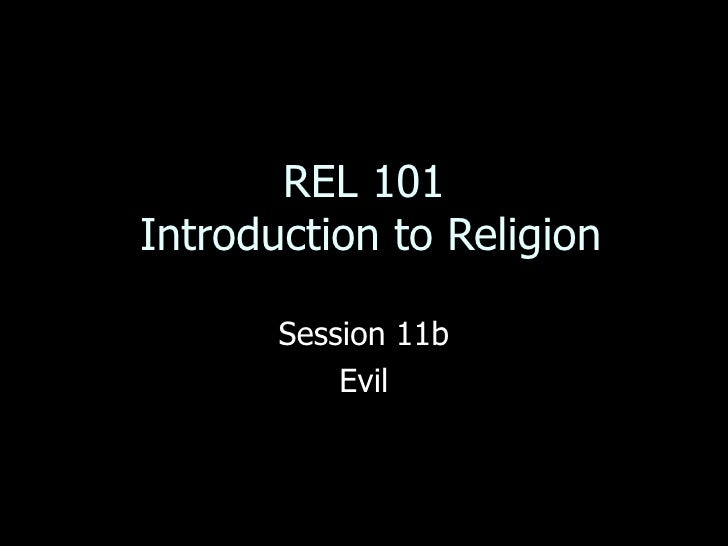 Rel 101 session 11b 1