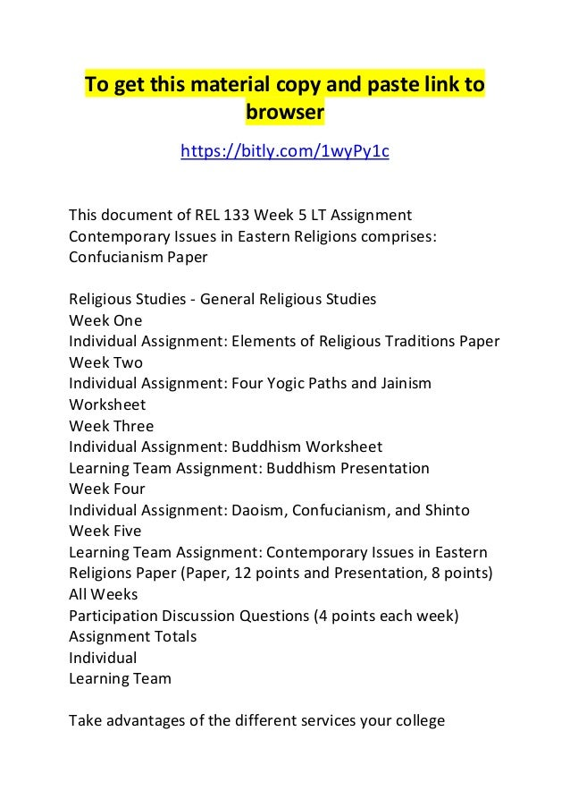 eastern religion paper Free eastern religions papers, essays, and research papers.
