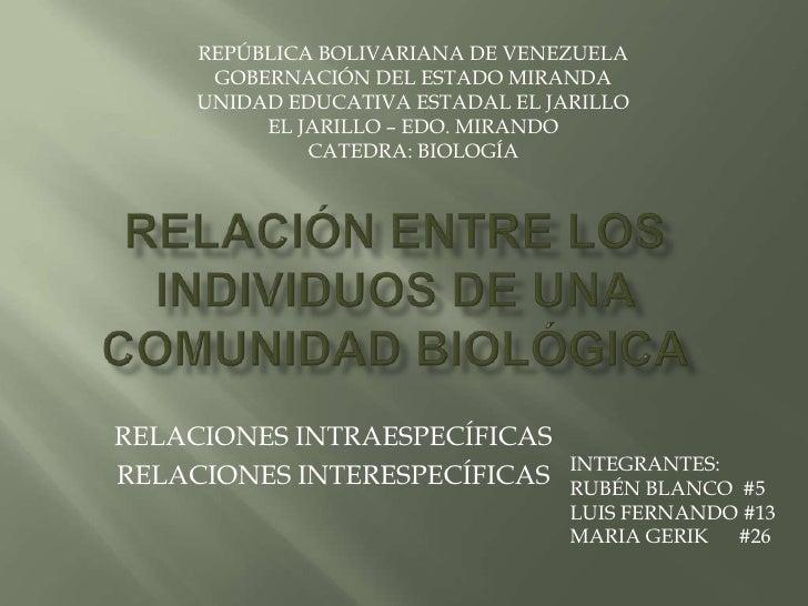REPÚBLICA BOLIVARIANA DE VENEZUELA      GOBERNACIÓN DEL ESTADO MIRANDA     UNIDAD EDUCATIVA ESTADAL EL JARILLO          EL...