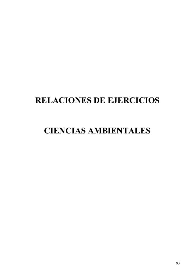 RELACIONES DE EJERCICIOS CIENCIAS AMBIENTALES 93