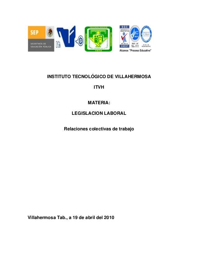 INSTITUTO TECNOLÓGICO DE VILLAHERMOSA                               ITVH                            MATERIA:              ...