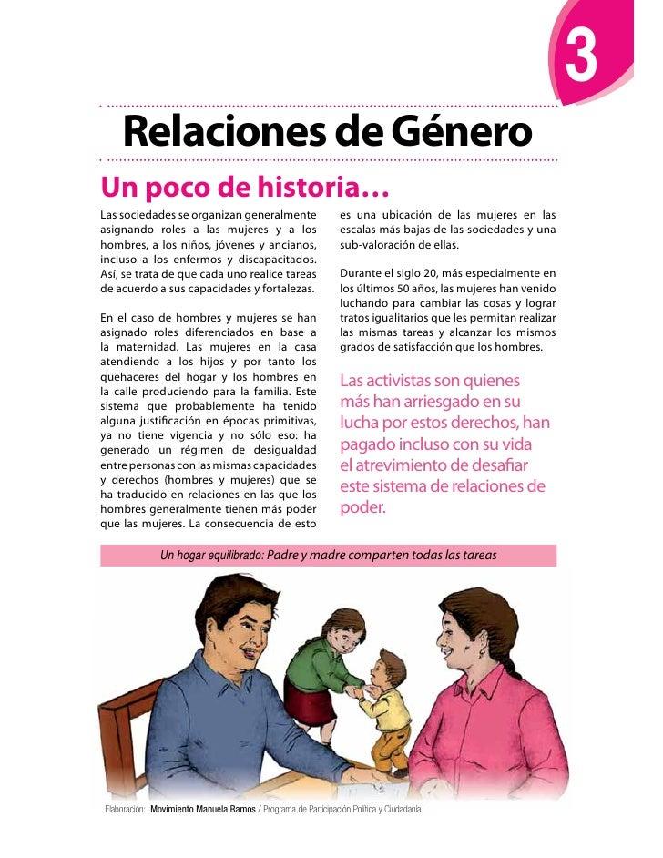 Relaciones de GéneroUn poco de historia…Las sociedades se organizan generalmente                        es una ubicación d...