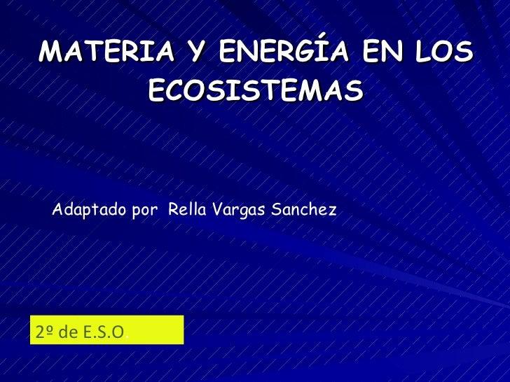 Relaciones Ecosistema