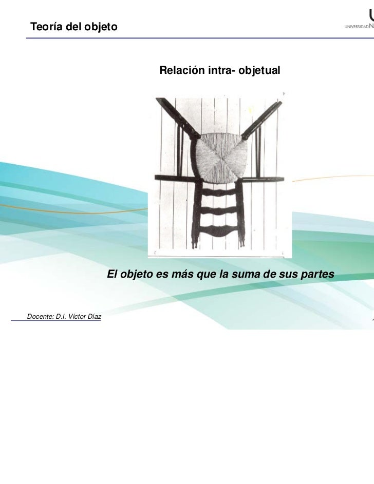 Relacion intra objetual