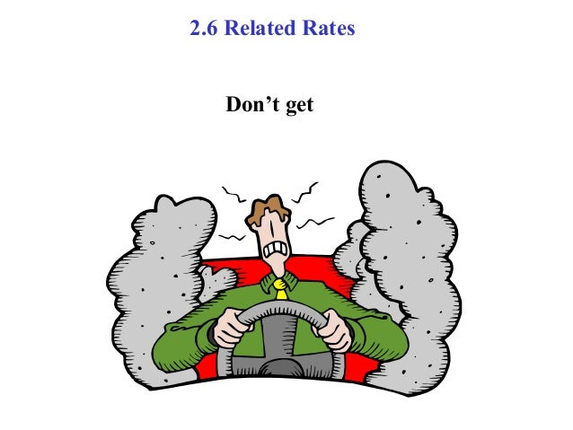 Related rates ppt