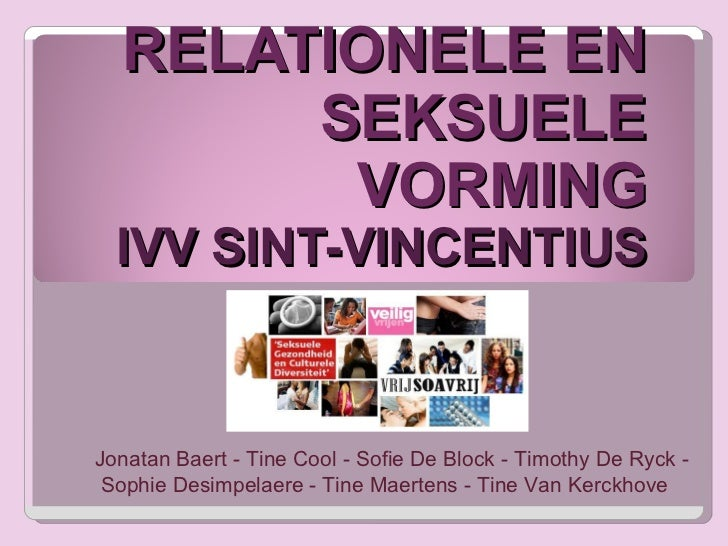 Relationele en Seksuele Vorming in het IVV
