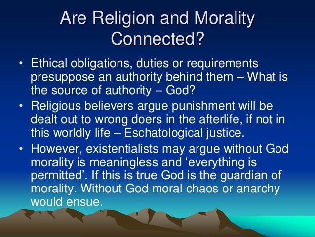 religion moral without god essay Forms the foundation of all morality the first is the existence of god essays, literary, moral the supposition that morality can be maintained without religion.