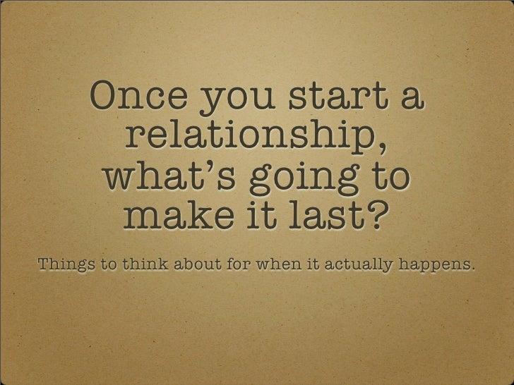 Relationships Best Shot