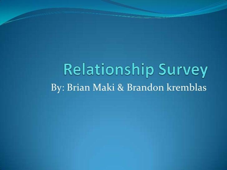 Relationship survey