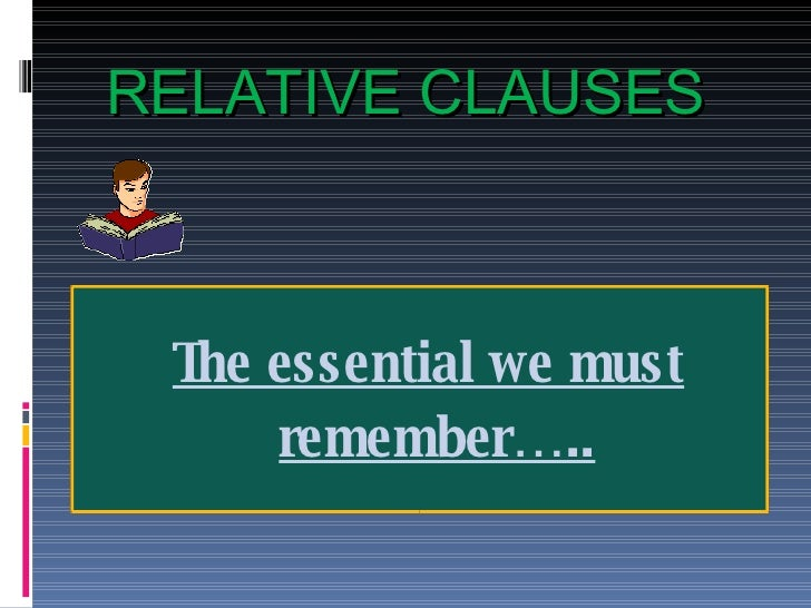 Relative Clauses0809