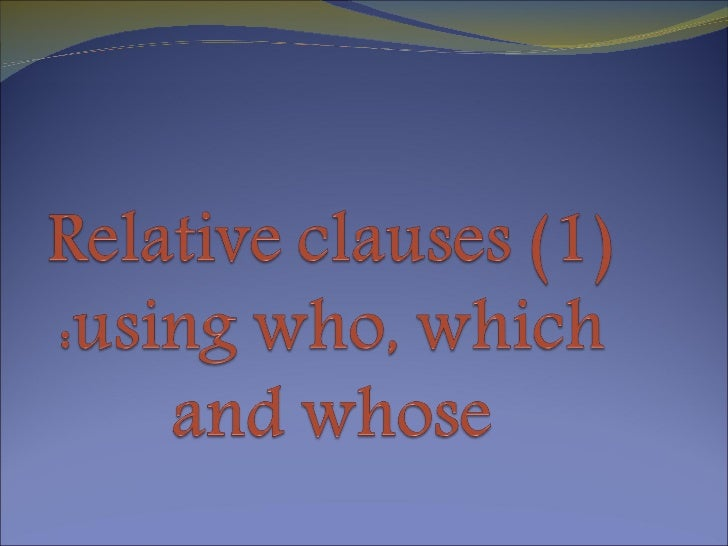 Relativeclauses1