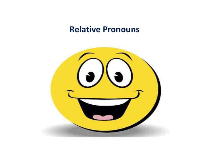 Relative pronouns   3º ano - 3º bimestre