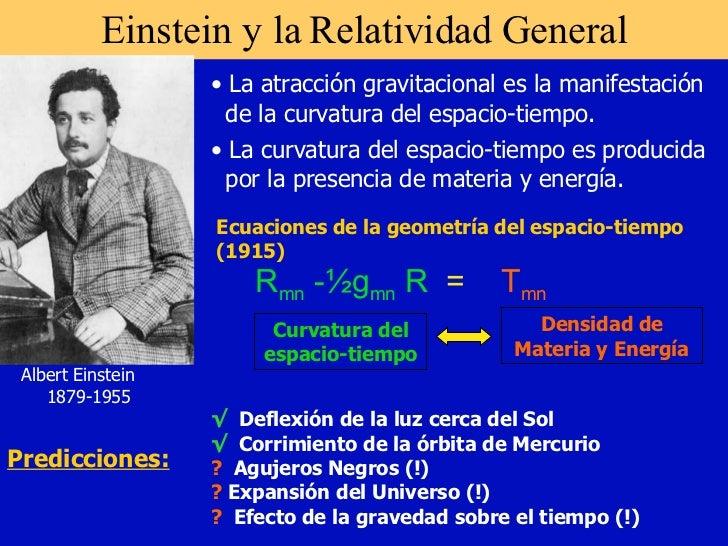 Relatividadgeneral