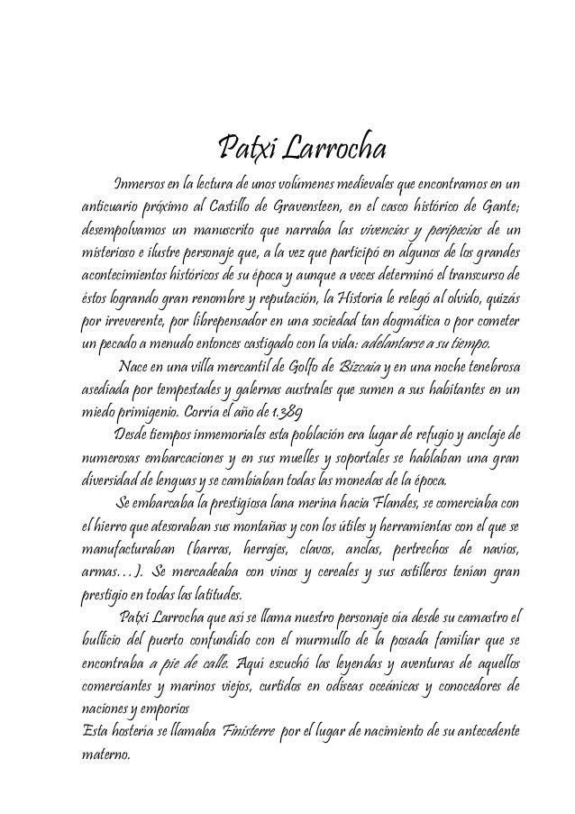 Patxi Larrocha Inmersos en la lectura de unos volúmenes medievales que encontramos en un anticuario próximo al Castillo de...