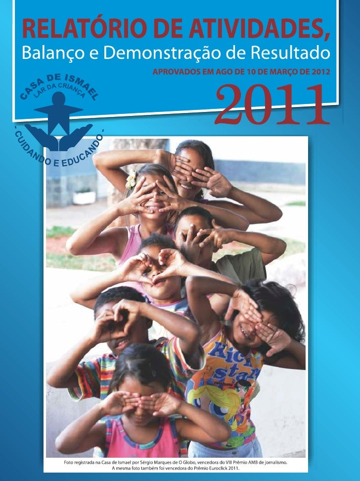Casa de Ismael - Relatório 2011