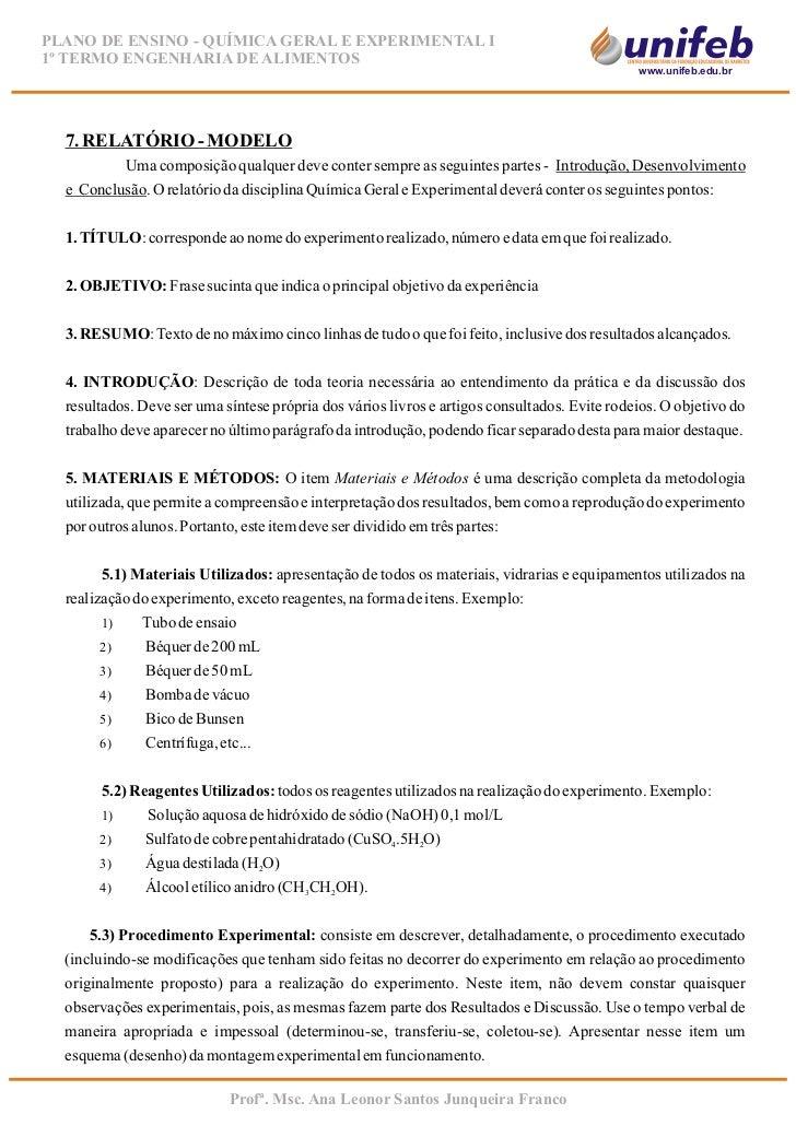 modelo de relatório Exemplo de avaliação - relatório detalhado dados de identificaÇÃo nome: nrl rg: xxxx idade: 56 anos sexo: feminino escolaridade: 4ª série primária.