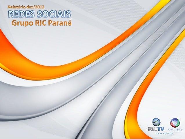 Relatório redes sociais dez 2012(1)