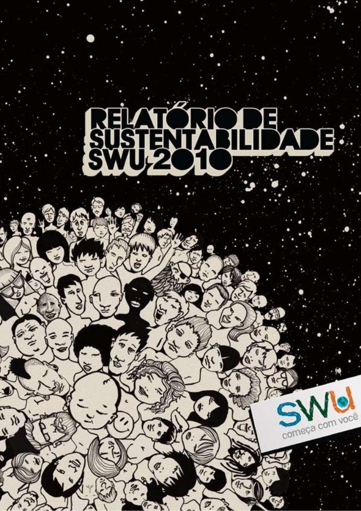 Relatorio de sustentabilidade do SWU
