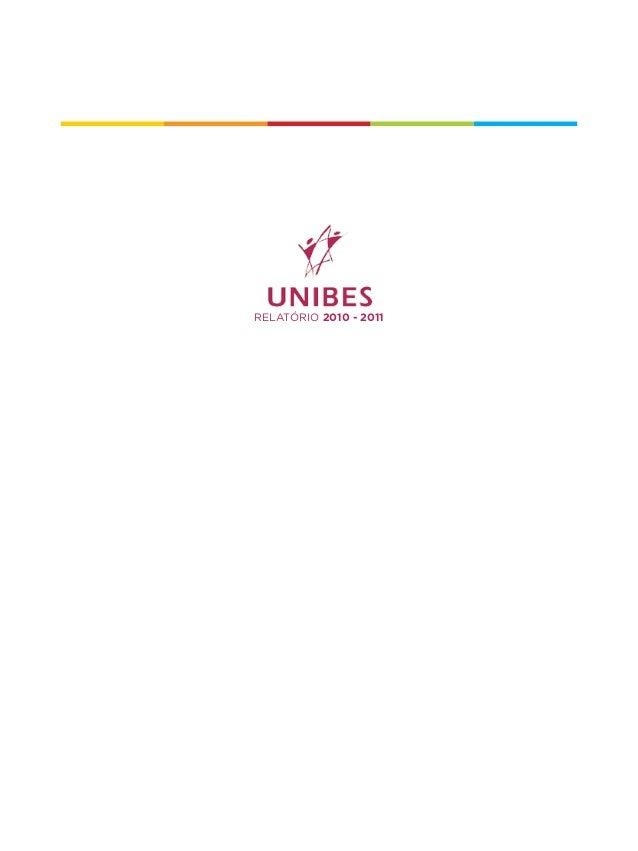 Relatório Unibes 2010-2011