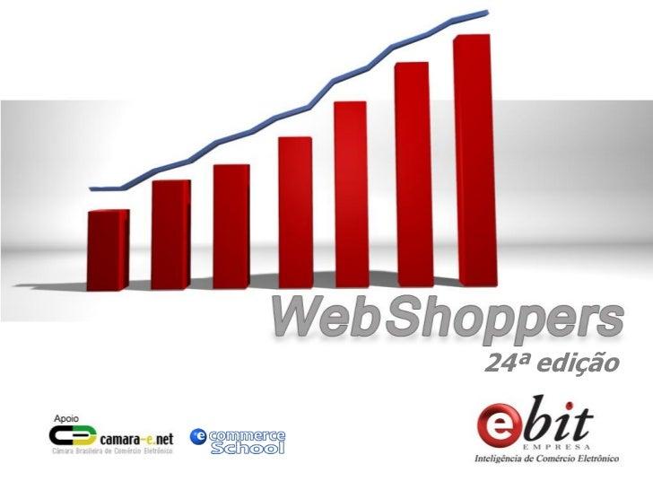 Relatório Webshoppers 24