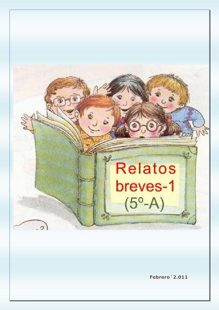 Relatos breves 1 (5º-A)