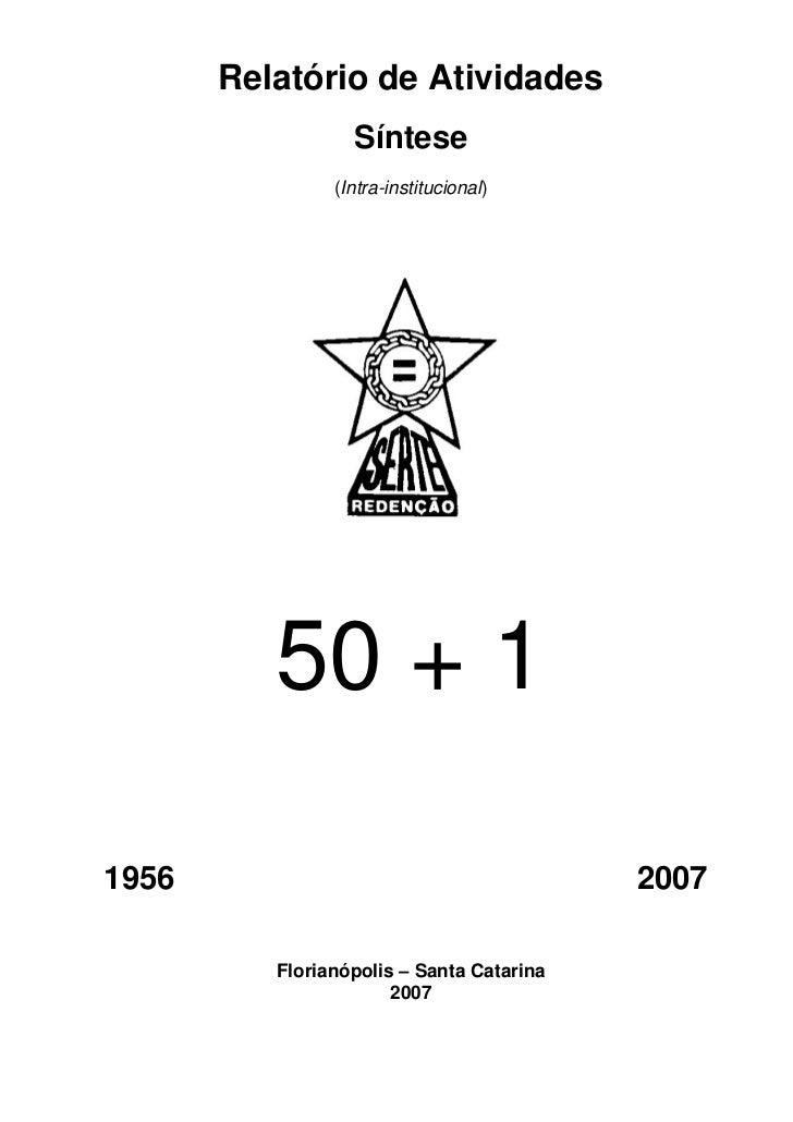 Relatório de Atividades                  Síntese                (Intra-institucional)          50 + 11956                 ...