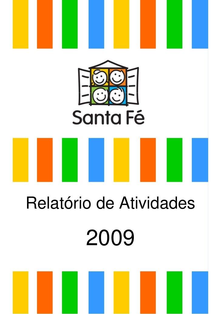 Relatório de Atividades        2009