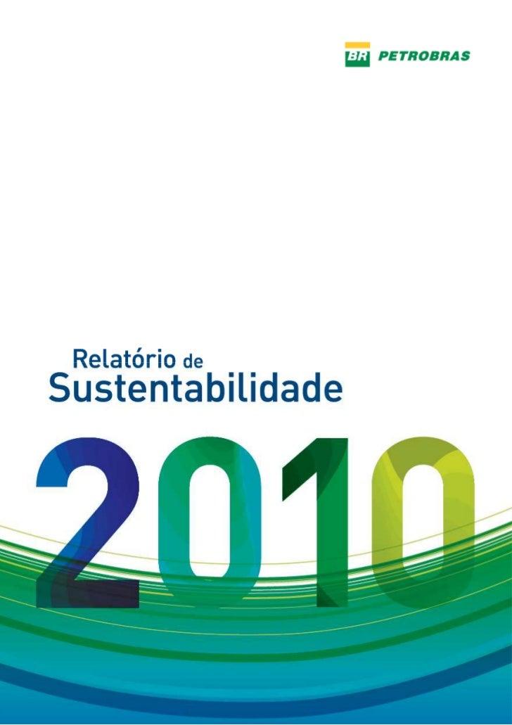 Relatório de Sustentabilidade 2010