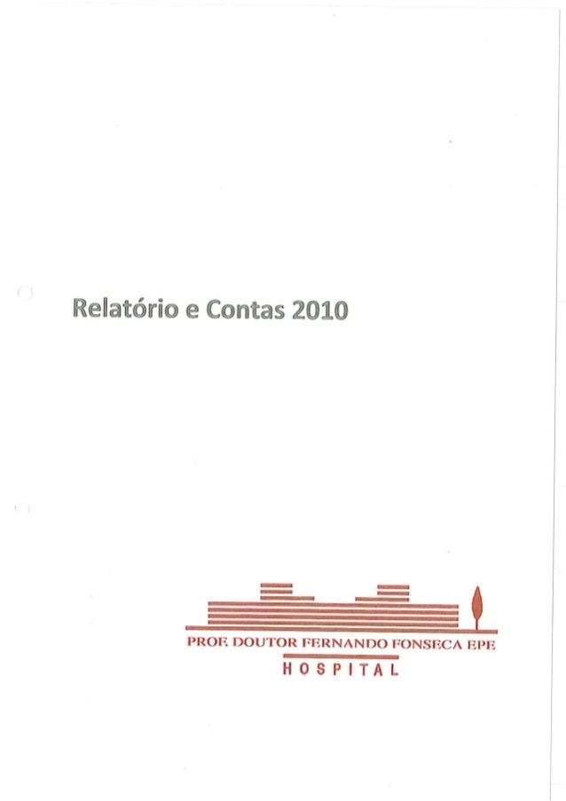 Relatório e contas hff 2010