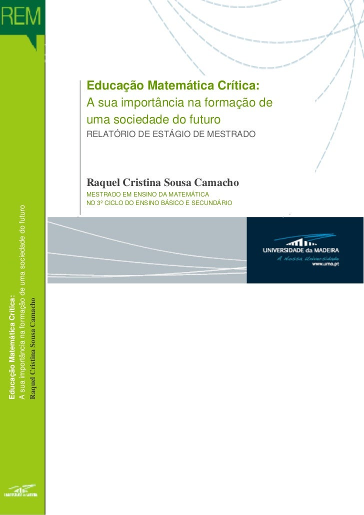 Educação Matemática Crítica:                                                                                          A su...
