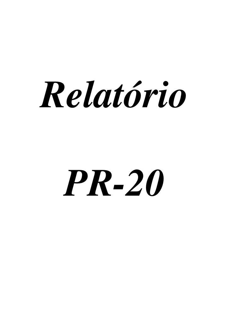 Relatorio publicidade e pr