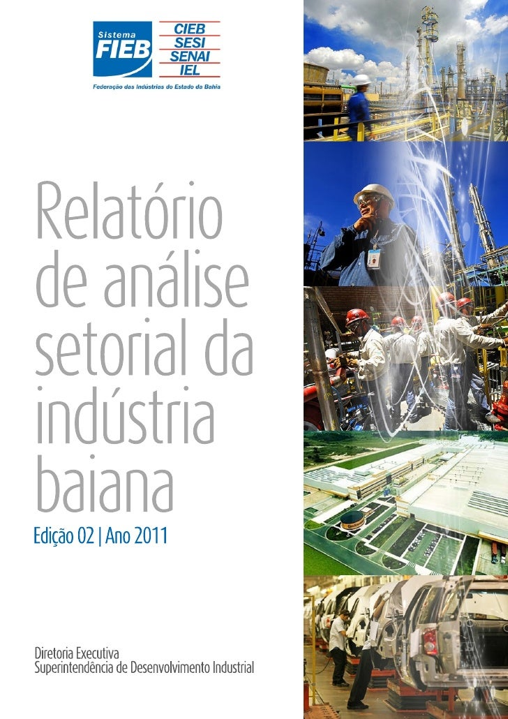 Análise Setorial da Indústria Baiana - Setembro 2011
