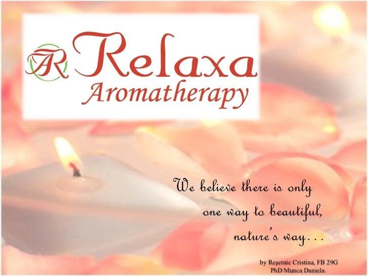 Relaxa Aromatherapy Business