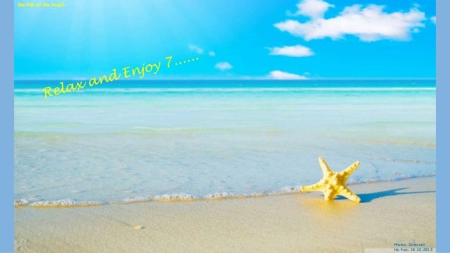 Starfish on the beach  1  Photos :Internet He Yan: 18.10.2013