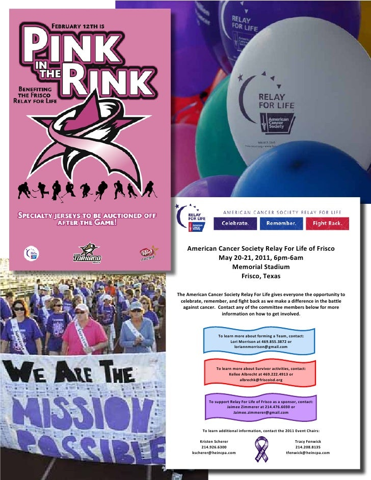 Relay Pink In The Rink Flyer 2