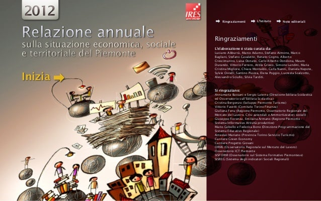 """Piemonte economico e sociale"" Ires 2012"