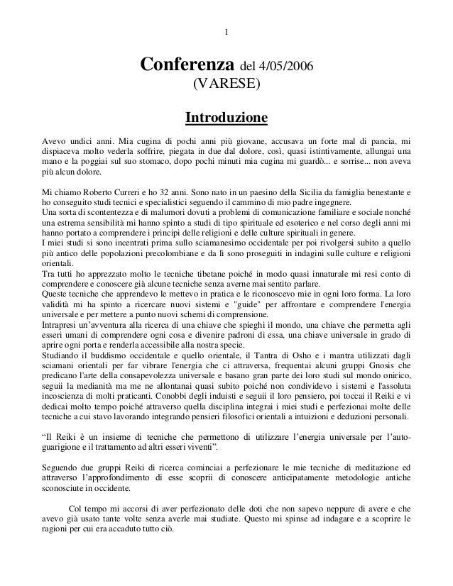 1                            Conferenza del 4/05/2006                                           (VARESE)                  ...