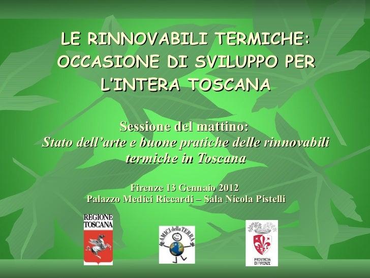 Relazione Ventre - Toscana