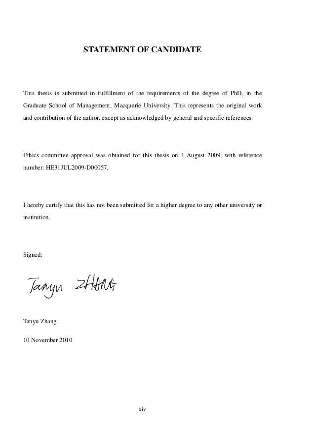 Thesis statement on leadership