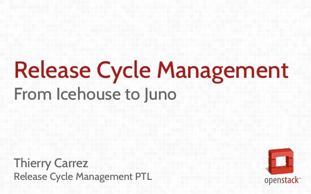 Release Management Updates - Juno Edition