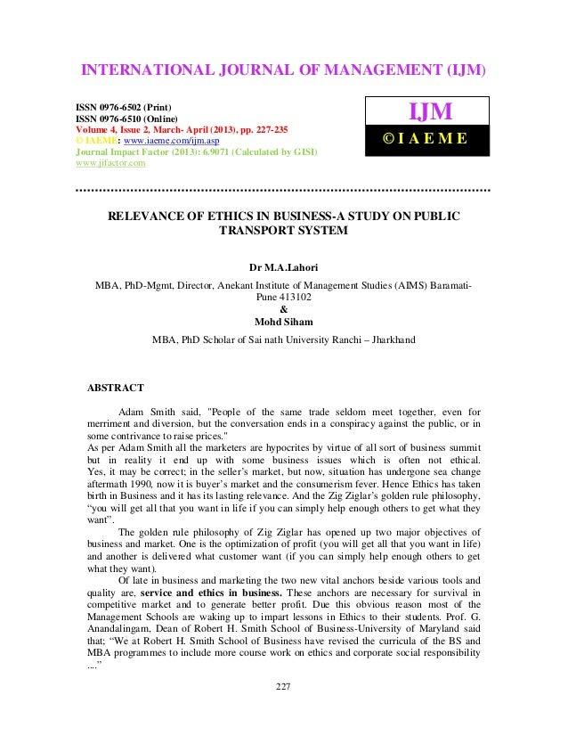 International Journal of Management (IJM), ISSN 0976 – 6502(Print), ISSN 0976 –6510(Online), Volume 4, Issue 2, March- Apr...
