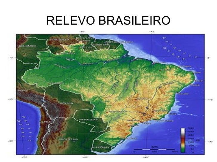 Relevo brasileiro e solos
