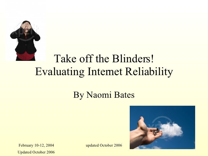 Reliability On The Internet